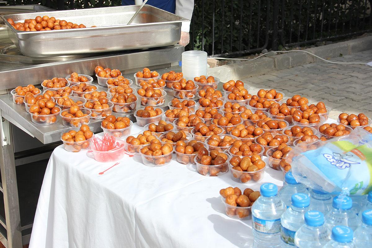 İstanbul açılışlar için lokma dökümü